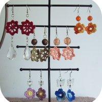 new crocheted jewelry :)