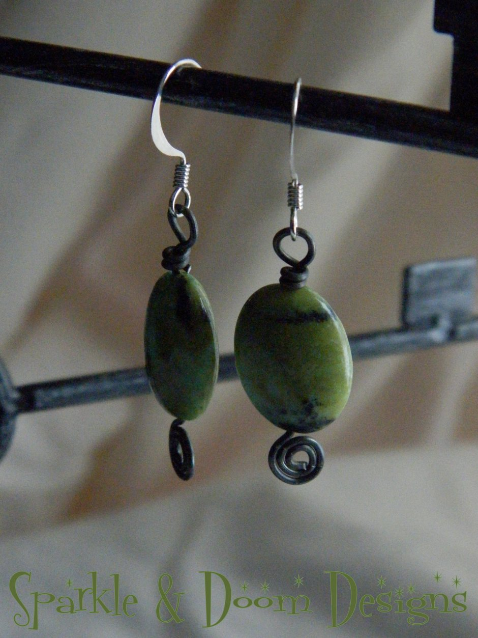 March 7th: Australian Jasper Earrings