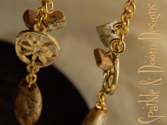 SparkleandDoom jasper earrings