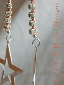 Sparkle&DoomDesigns retro star earrings