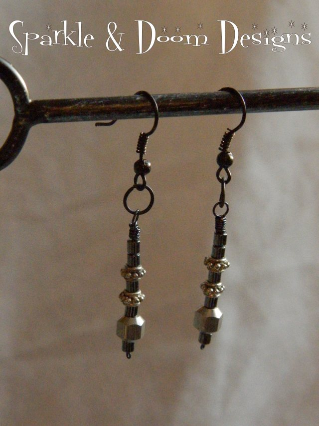 Sparkle&DoomDesigns steel earrings