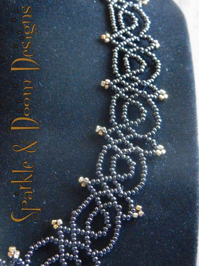 Gothic Beadwork Necklace