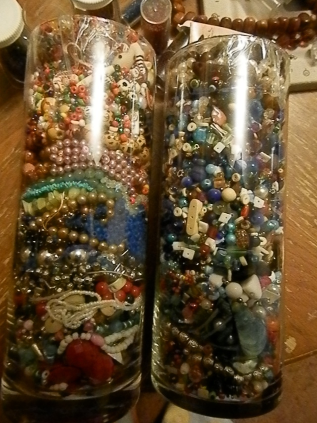 I got two jars of loose beads. One for $9.99, and the other for $12.99.