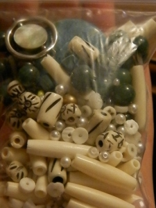 bone tube beads, carved beads, and loose gemstone beads!