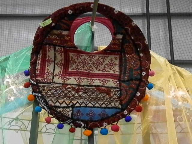 neat purse at the Pakistan Pavilion.  Should have bought it.