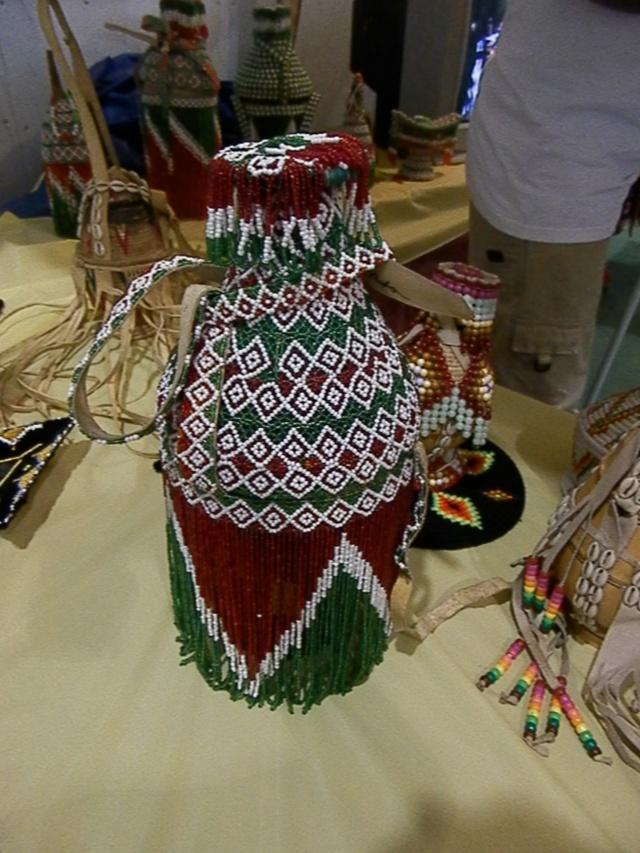 Oromo beadwork