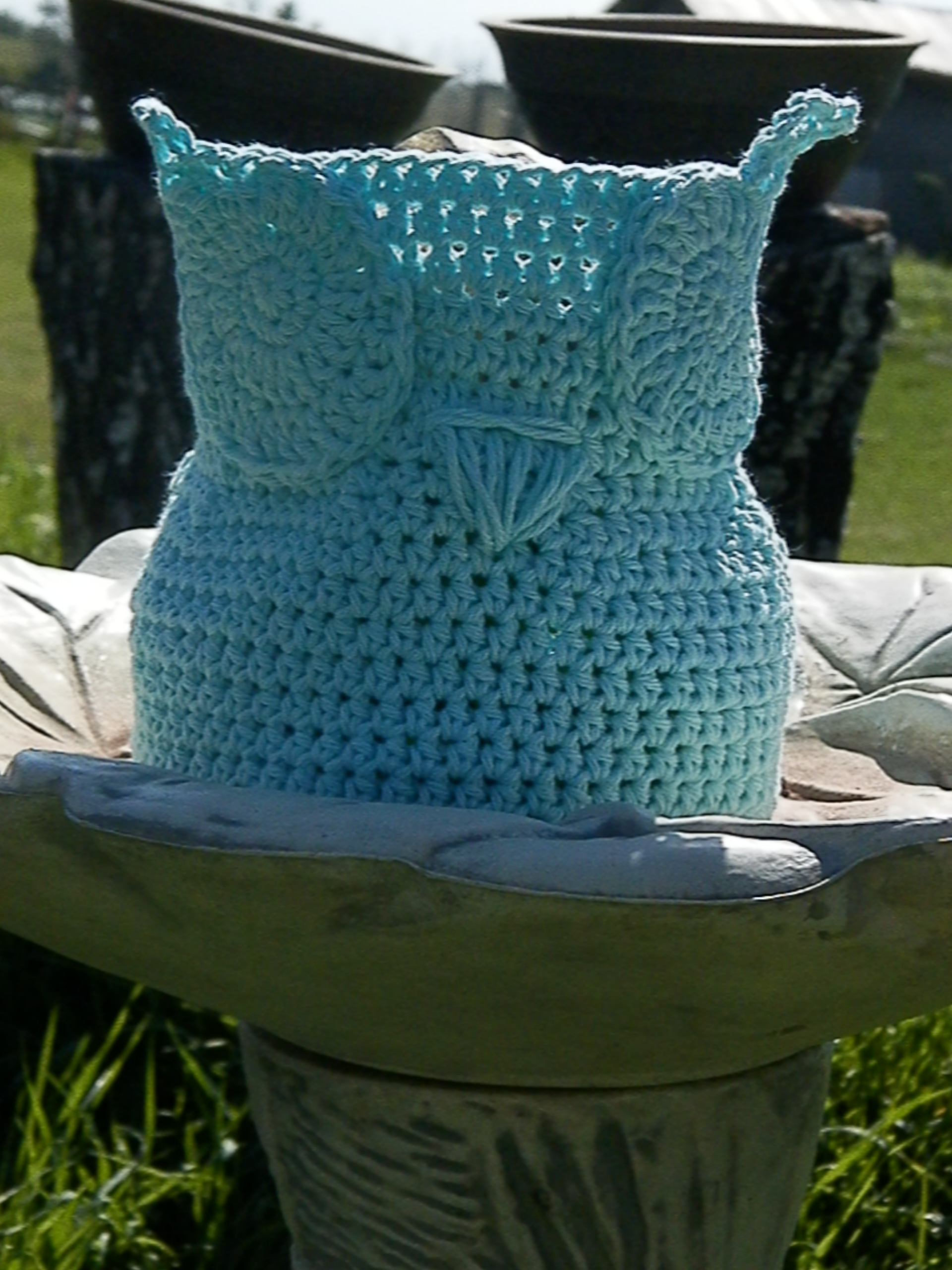 Owl Basket ta da! | Sparkle & Doom Designs