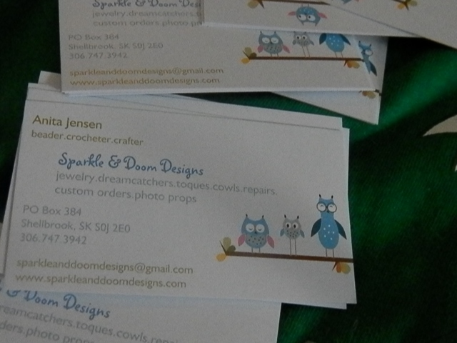 new business cards!!