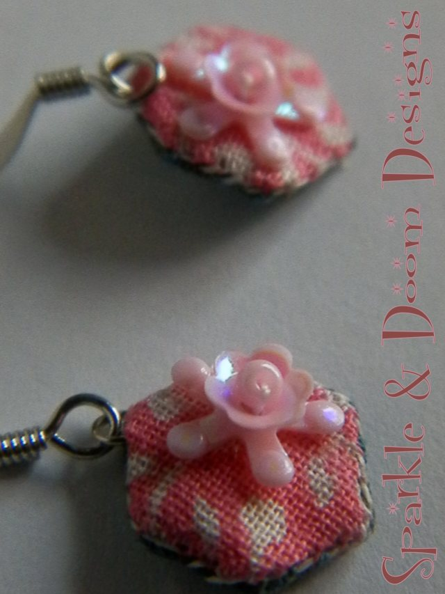 cutie Posy Hexie Earrings