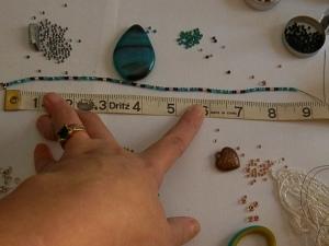I use a measuring tape