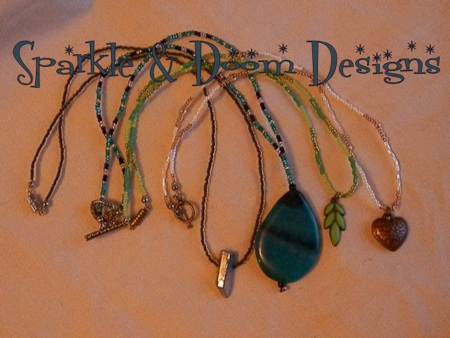 4 new necklaces