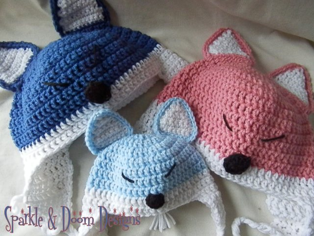 Happy Fox Hat {made to order}
