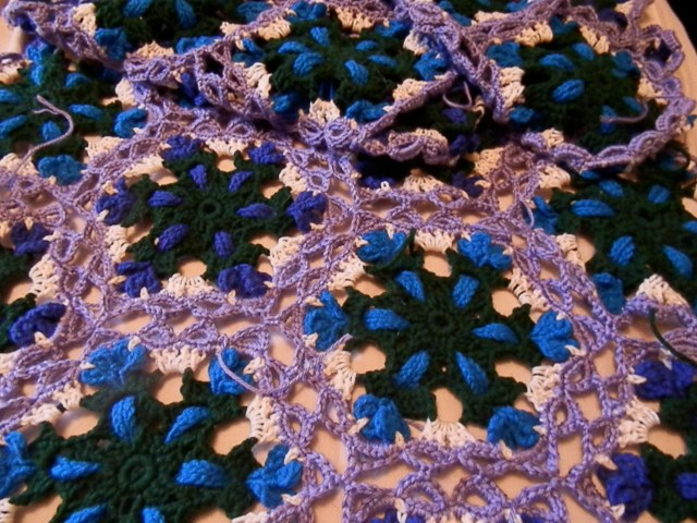 March's Afghan: Celtic Lace