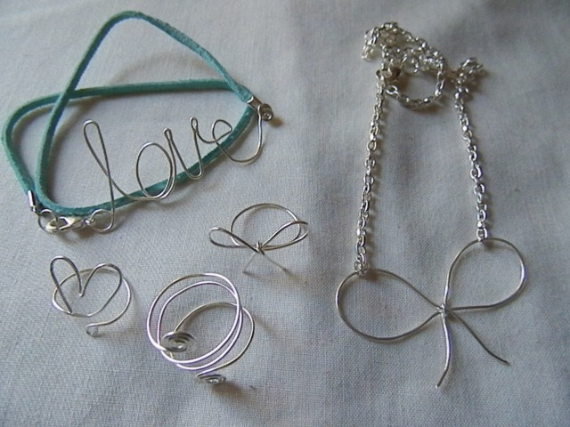 Wire Words & Shapes everything I'll be teaching to make in this class
