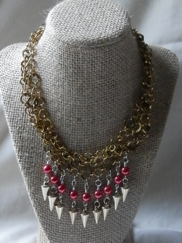 Multi-Strand Wire Wrapped Necklace: learn the basics of wire wrapped loops