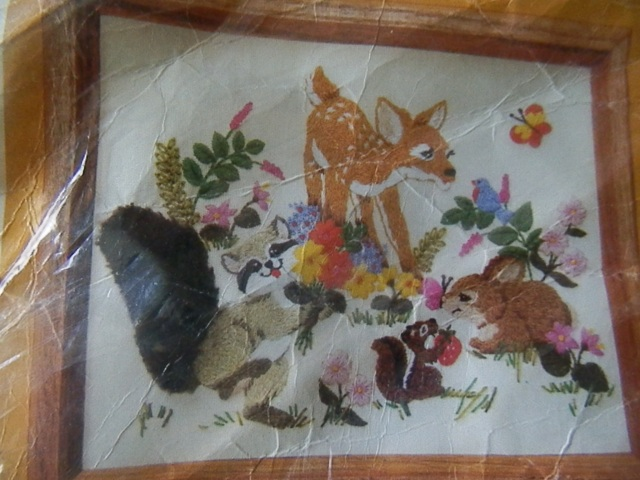 vintage needlework kit