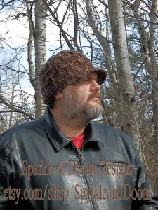 CrocheTrend Unisex hat, custom order for Jason K.