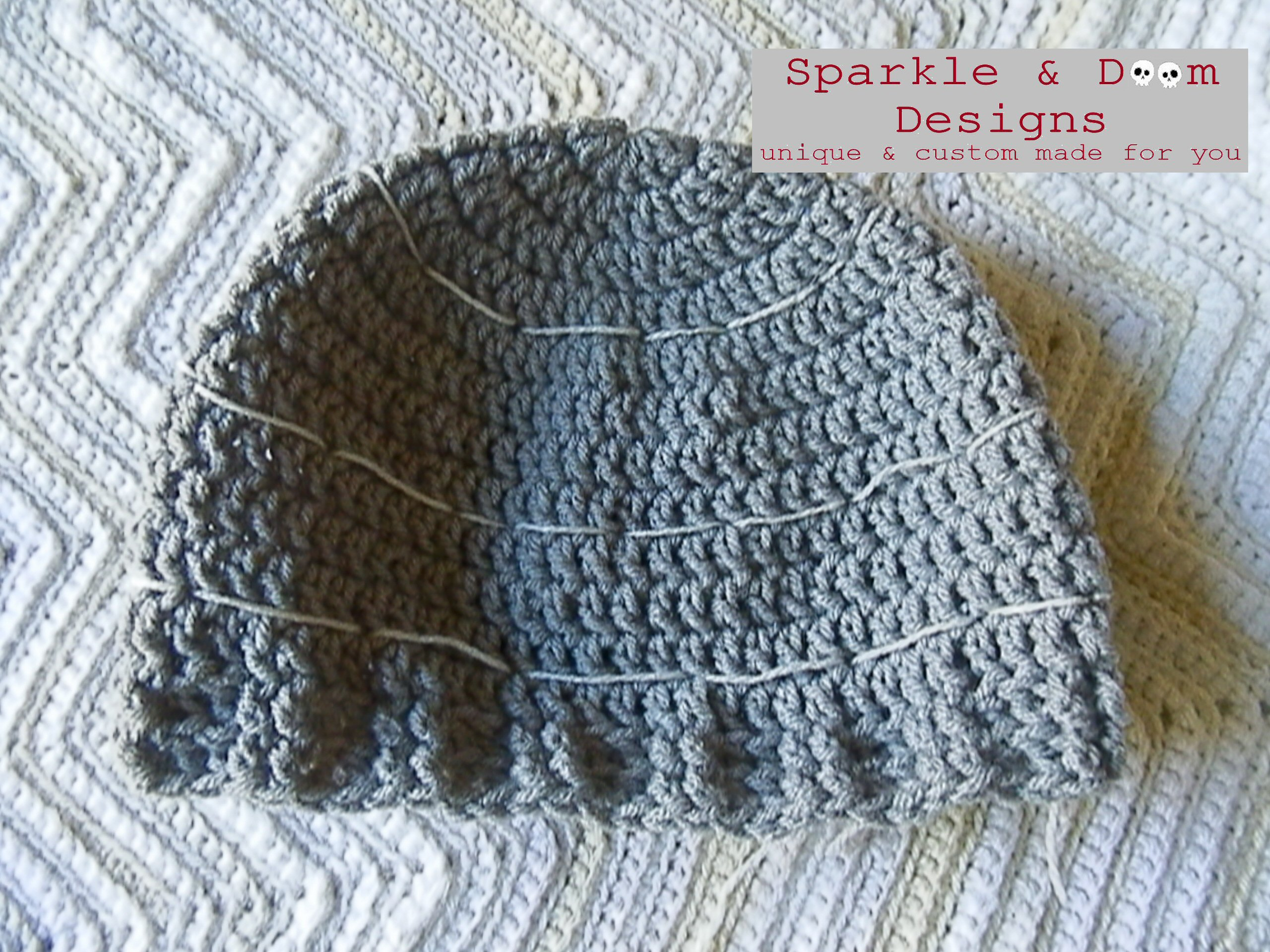 Free Death Star Beanie & Slouch Pattern | Sparkle & Doom Designs