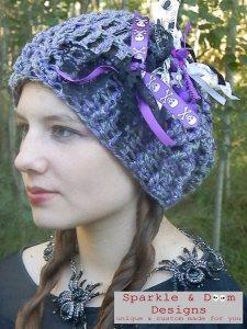 Purple & Grey Spooky Billie