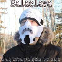 Storm Trooper Balaclava Pattern