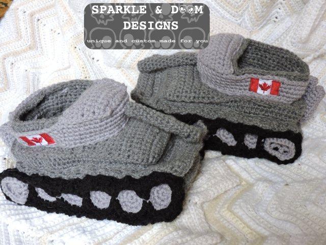 Tank Slippers 02d