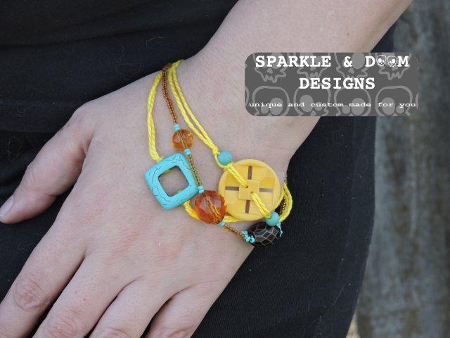 Bracelet, stacked 01a