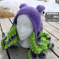 Octopus Hat Ta Da!